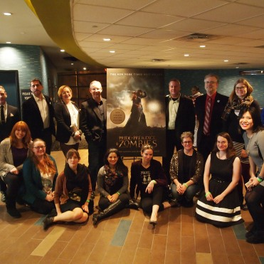 Quirk Books Staff at the #PPZMovie screening.