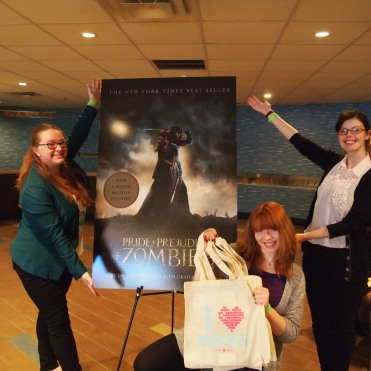 Quirk Book Interns at the #PPZMovie